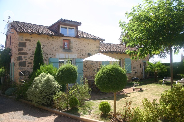 Maison Lavande, terrasse et jardin