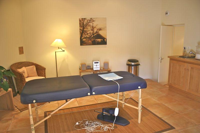 Montagenet, salle de massage