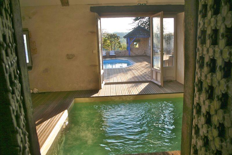 Montagenet, bassin de nage à contre courant