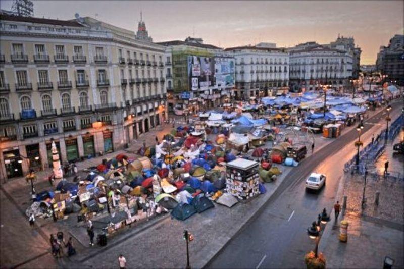 Puerta del Sol, photo AFP
