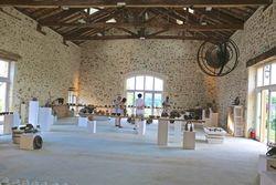 Grande salle, expo céramique