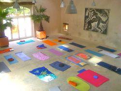Salle des fêtes, stage de yoga