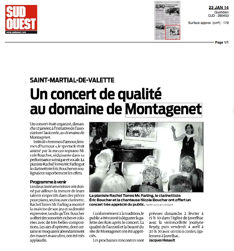 Sud-Ouest 23-1-14