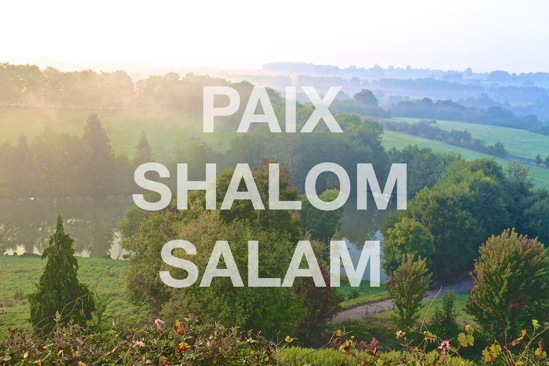 Paix-Shalom-Salam