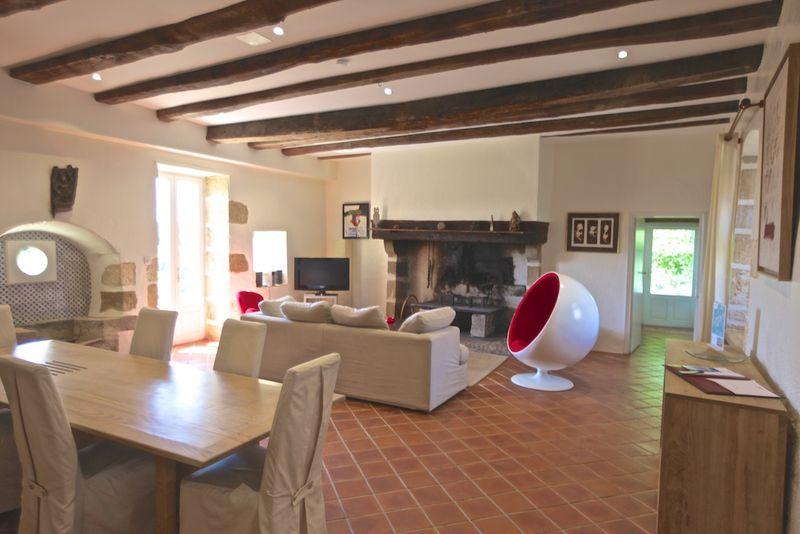 Gîte Acacia - Le salon (1)