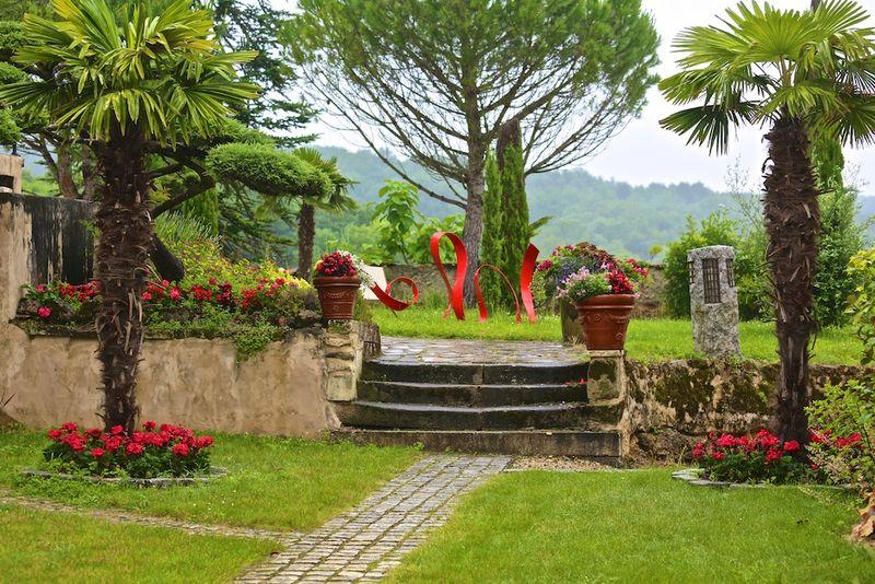 Montagenet - Jardin toscan
