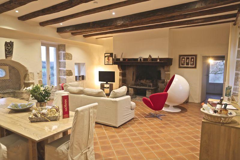 Gîte Acacia - Le salon (3)