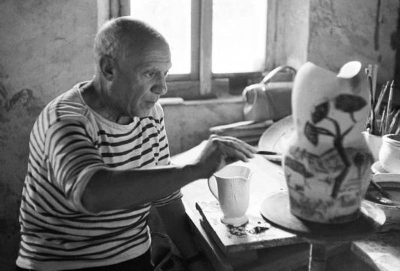 Picasso par Yves Manciet - Vallauris