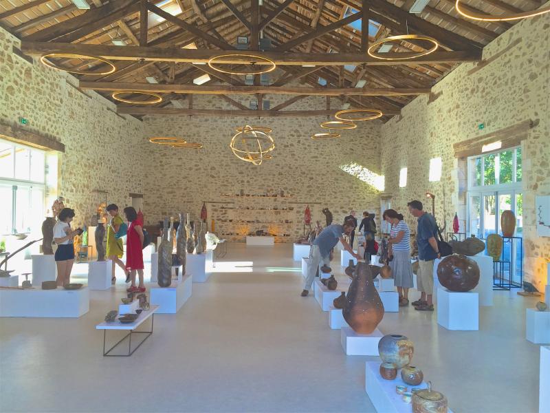 """Montagenet - Grande Salle - 6e Biennale """"Génération Céramique"""" - Juillet-Août 2015 (2)"""