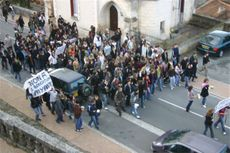 Nontron_manif_lycenne